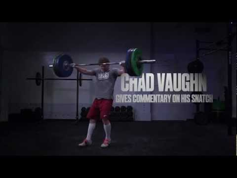 CrossFit - Oly Analysis: Chad Vaughn Snatch with Chad Vaughn