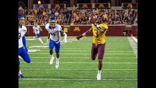 Minnesota's Rashod Bateman Had An OBJ-like TD Catch