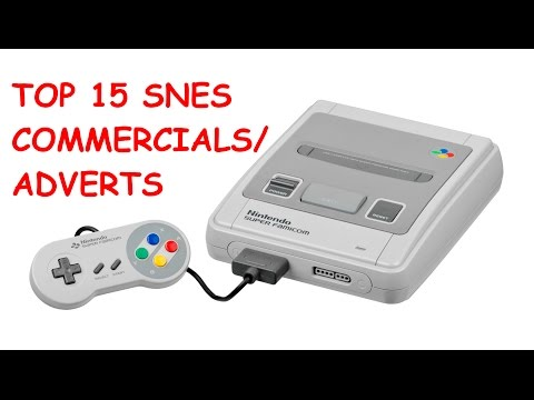 Top 15 SNES Adverts / Commercials ( Super Nintendo Entertainment System / Famicom )