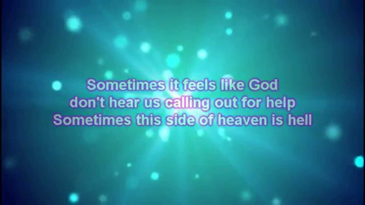 The Swon Brothers Ft Carrie Underwood This Side Of Heaven Lyrics Youtube