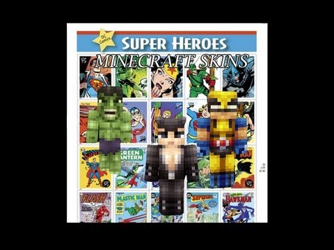 Minecraft Skins - Top 10 Super Hero Minecraft Skins