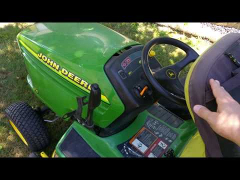 John Deere GT225 RIO Defeat Disable Bypass