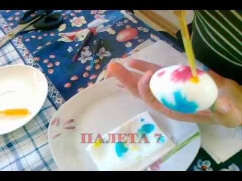 Farbanje jajca - Komplet Kristali - Paleta 7.wmv