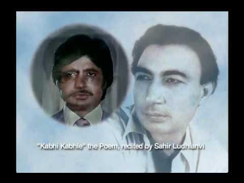 Kabhi Kabhi Mere Dil Mein Khayal Aata Hai - A poem by Sahir...