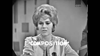 PASSWORD 1963-03-10 Jane Fonda & Bill Cullen