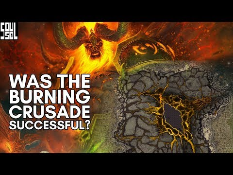 *SPOILERS* Sargeras won and everything's okay! World of Warcraft Legion discussion