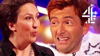 "David Tennant Plays ""Snog, Marry, Kill: Matt Smith, Peter Capaldi Or Jodie Whittaker?"""