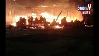 LPG Gas Cylinder Blast In L.B Nagar RTC Colony In Hyderabad
