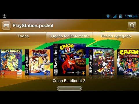 Probando Los Juegos Pocket Station ROM GINGER-DASH