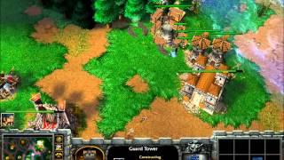 Hum vs Orc. Tower Rush,Again..