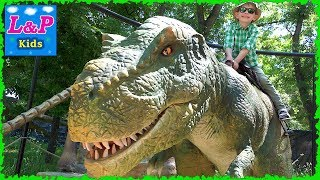 Jurassic Park Dinosaurs for kids | Let's go watch dinosaurs | Children's video about dinosaurs