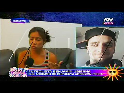 HOLA A TODOS 01/06/16 ACUSAN AL FUTBOLISTA BENJAMIN UBIERNA DE AGRESIÓN FISICA