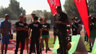 Usain Bolt Teaches Kids at Mt. SAC How to Run Fast