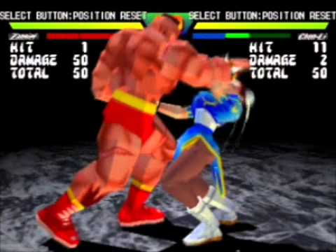 Zangief Throw Exhibition (All Street Fighter Games)
