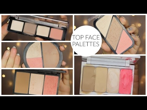 Top Favorite Face Palettes | Bailey B.