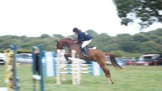 Winning 2'6/80cm at Marden & District RC Show Aug 2014
