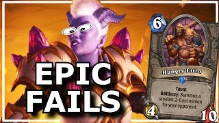 Hearthstone - Best of Epic Fails