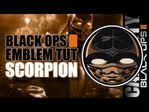Scorpion Black Ops 2 Emblem Black Ops 2 Emblem Tutorials