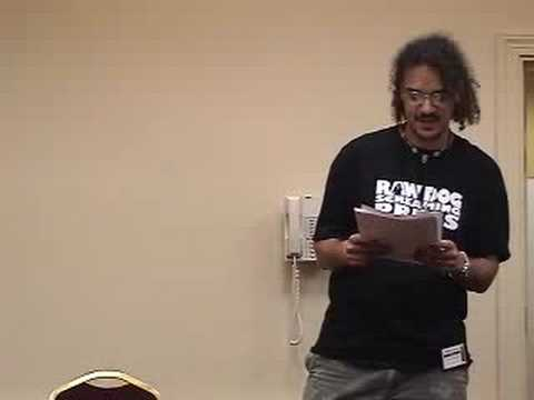 "Reading ""Cry Little Sister"" at HorrorFind '08 (pt 1)"