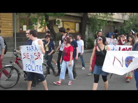 Bucureşti: Marş pentru democraţie