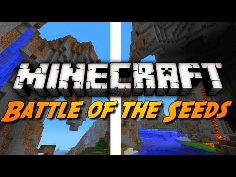 Minecraft Seeds - Battle of the Seeds! (1.3 + 12w40b Seed Showcase)
