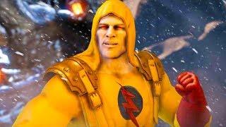 Mortal Kombat XL - Reverse-Flash Tremor Costume Skin Mod Performs Intros On Alll Stages 4K Mods