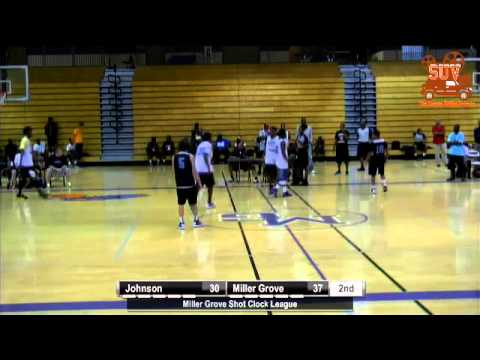 Miller Grove Shot Clock League: Miller Grove vs. Johnson (Gainesville)