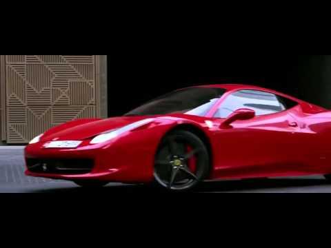 Nissan GTR Chases Ferrari 458 by Abu Dhabi Police Chase   Dubai Police Vehicles