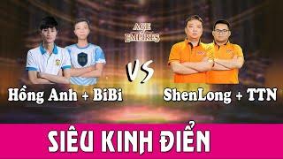 🔴[Trực tiếp AOE] Hồng Anh + BiBi vs Shenlong + Tiểu Thủy Ngư | Ngày 18-05-2019