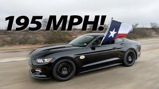 2015 Hennessey Mustang Runs 195 MPH