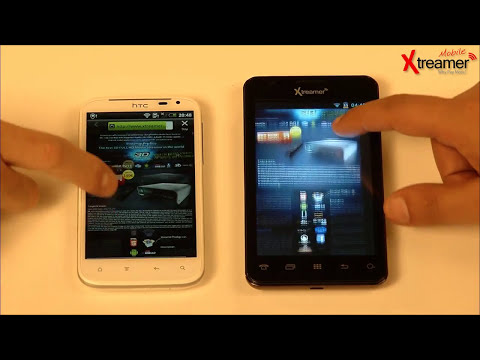 Xtreamer Mobile AiKi vs. Galaxy S3 & HTC Sense XL