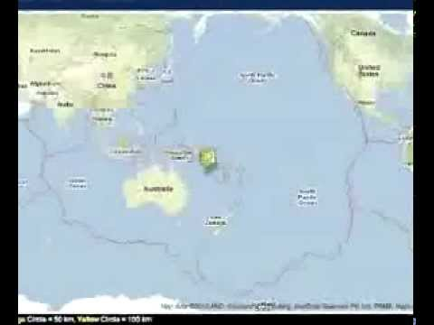 EARTHQUAKE hits the SOLOMON ISLANDS - no TSUNAMI WARNING