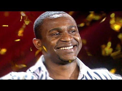 "Supertalent 2012 Christian Bakotessa mit ""I Believe I Can Fly"" von R. Kelly"
