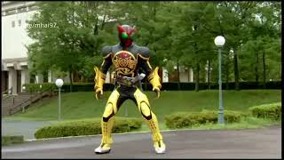 Kamen Rider OOO Henshin, Form, Finisher