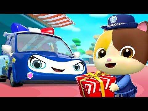 나는 경찰차 달려 달려 달려 !|선물 전해 줘요| 베이비버스 인기동요|BabyBus