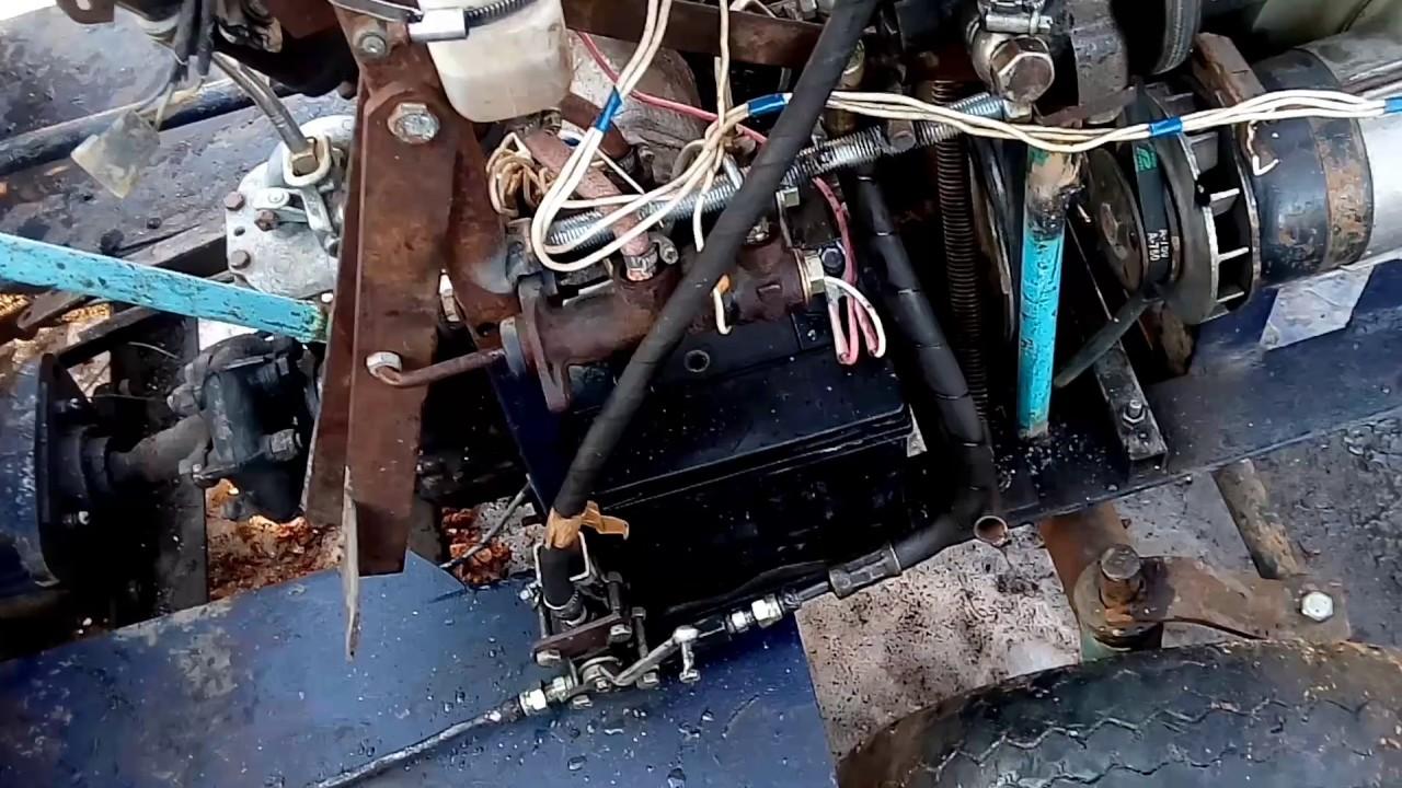 Гидросистема самодельного минитрактора своими руками 813