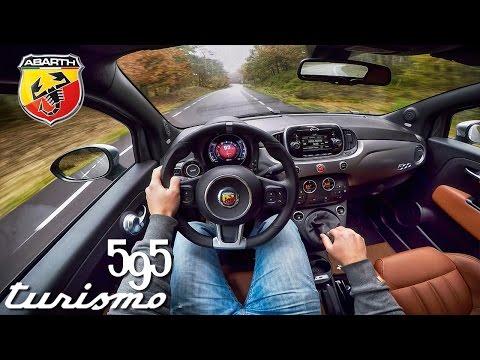Abarth 595 POV Test Drive Interior & Exhaust Sound