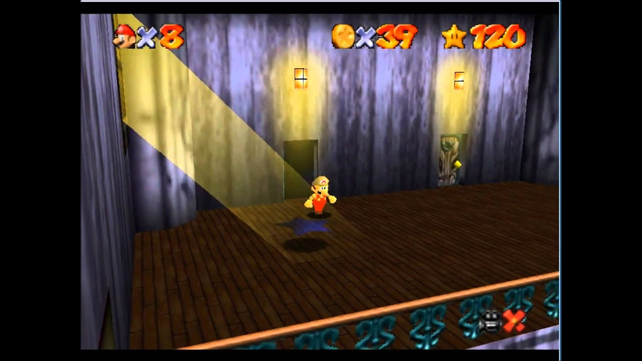 Super Mario 64 Ghost House Super Mario 64 Ghost House
