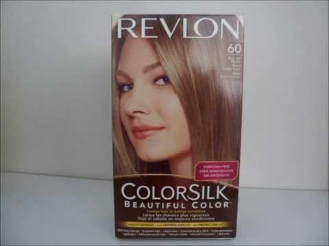 Revlon Colorsilk 60 Dark Ash Blonde Hair Dye - YouTube