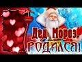 Дед Мороз родился Дед Мороз существует Музыкальная открытка для друзей mp3