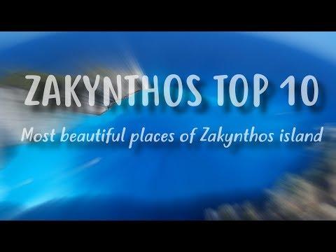 Zakynthos TOP 10   Best places