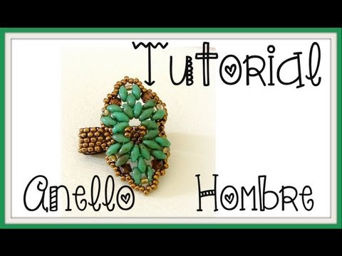 DIY - Tutorial anello SuperDuo Hombre | Beads Ring