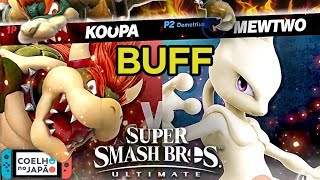 Mewtwo and Bowser are MUCH improved in Super Smash Bros Ultimate! Mewtwo x Bowser -1v1 Gameplay