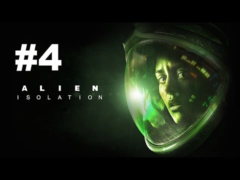 Alien Isolation Walkthrough Part 4 - KILLING PEOPLE?! (Ps4/Xbox One Gameplay FaceCam 1080p HD)
