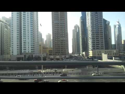 Dubai Marina 2 from metro