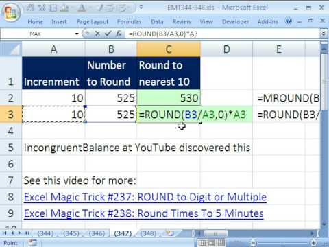 Round Function Excel : Page 2/10 : Rechercher.Name