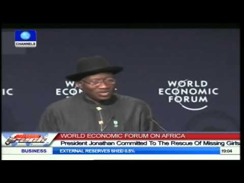 Jonathan Restates Commitment To Rescue Abducted Chibok Girls