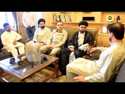 APHC Chairman Mirwaiz Umar Farooq during a meeting with Iranian delegation