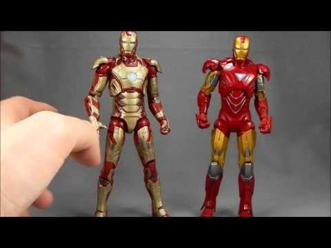 Marvel Legends Iron Man 3 Mark 42 Armor Review