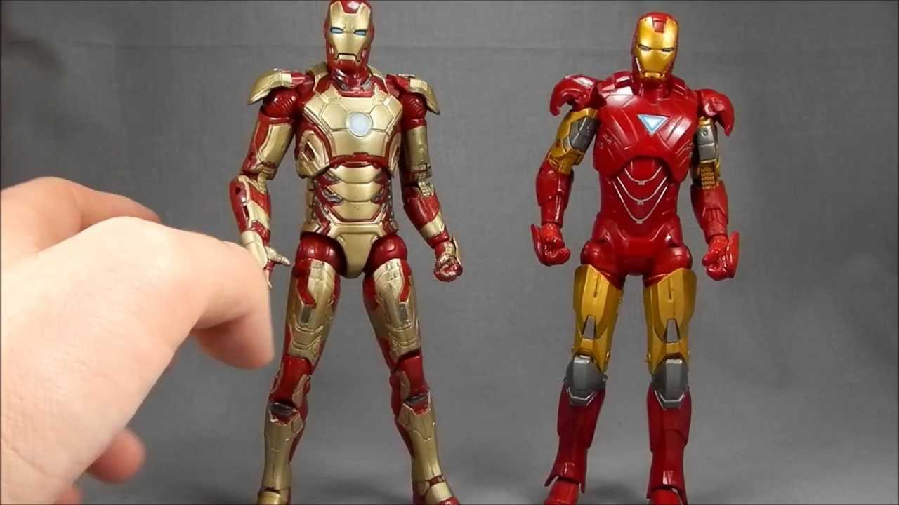 Iron Man Armors Mark 8 Marvel Legends Iron Man 3 Mark